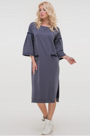 Платье «Никки» цвета джинс