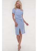 Платье «Суррей» голубого цвета