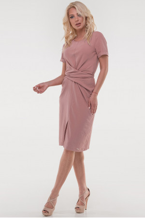 Платье «Суррей» темно-розового цвета