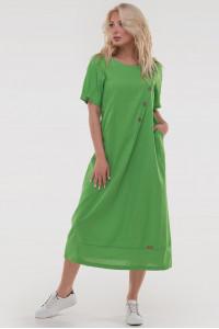 Платье «Касл» зеленого цвета