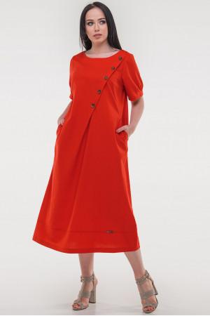Сукня «Касл» червоного кольору