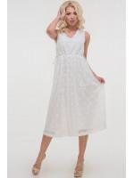 Платье «Лореляй» молочного цвета