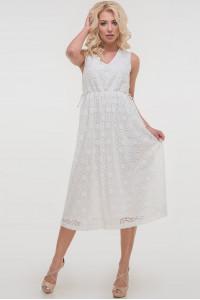 Сукня «Лореляй» молочного кольору