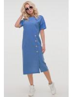 Платье «Пэнни» голубого цвета