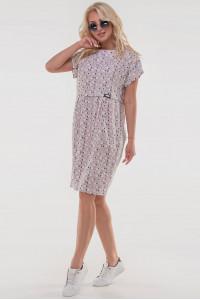Платье «Харбин» розового цвета