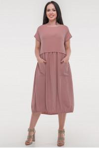 Платье «Атрис» темно-розового цвета