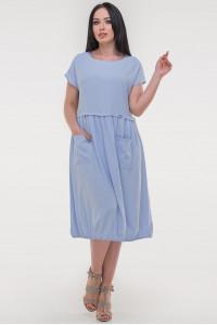 Платье «Атрис» голубого цвета