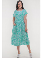 Платье «Ливика» мятного цвета