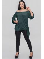 Туника «Зайрин» зеленого цвета