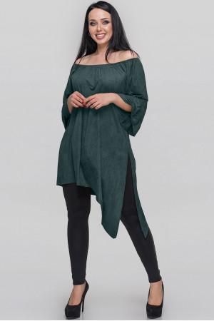 Туніка «Зайрін» зеленого кольору