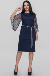 Платье «Гверта» синего цвета