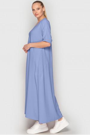 Платье «Мейбелл-лето» голубого цвета