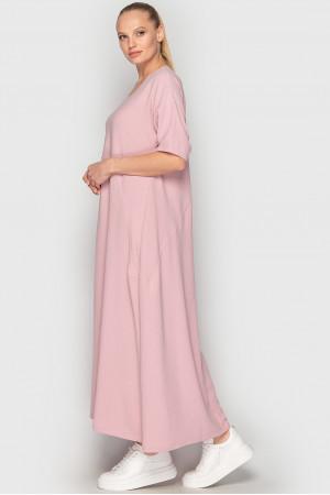 Платье «Мейбелл-лето» розового цвета