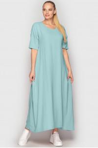Платье «Мейбелл-лето» мятного цвета
