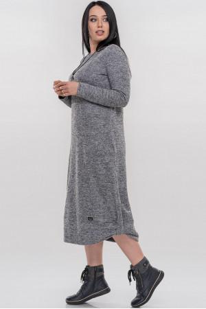 Платье «Эдо» серого цвета