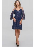 Платье «Лийдея» синего цвета