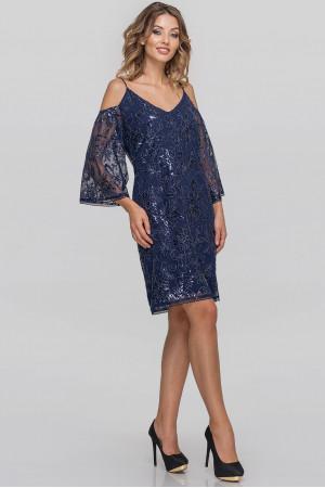 Сукня «Лійдея» синього кольору