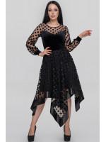Сукня «Вірджин» чорного кольору