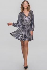 Платье «Меркури» цвета темного серебра