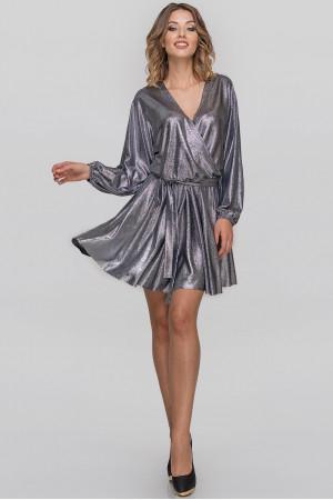 Сукня «Меркурі» кольору темного срібла