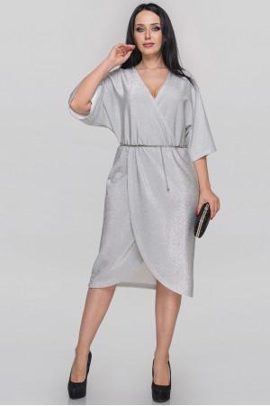 Сукня «Енігма» сріблястого кольору