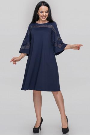 Сукня «Кірана» синього кольору