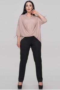 Блуза «Роксетт» кольору пудри