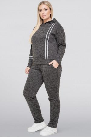 Спортивний костюм «Джадда» темно-сірого кольору