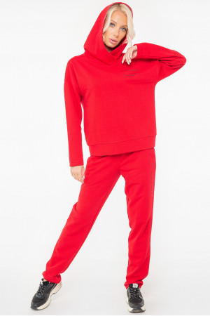 Спортивный костюм «Джайв» красного цвета