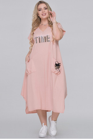 Сукня «Айсара» персикового кольору