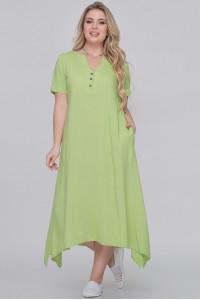 Сукня «Магда» горохового кольору
