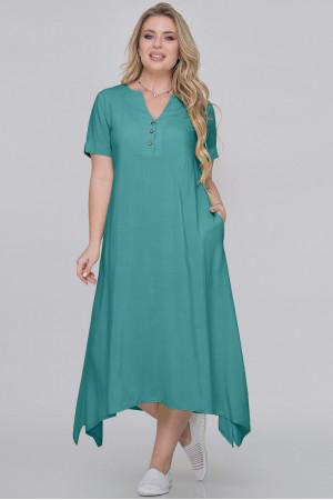 Сукня «Магда» кольору морської хвилі