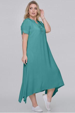 Платье «Магда» цвета морской волны