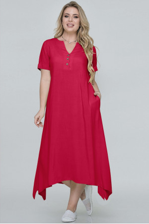 Сукня «Магда» червоного кольору