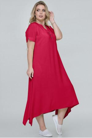 Платье «Магда» красного цвета