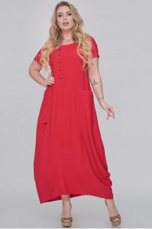 Платье «Линдсей» красного цвета