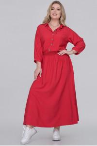 Сукня «Вілея» червоного кольору