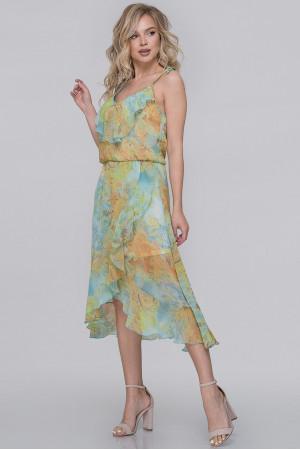 Платье «Фрейя» с мятным принтом