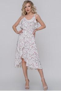 Платье «Оттава» белого цвета
