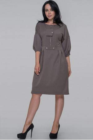 Сукня «Маркель» сіро-оливкового кольору