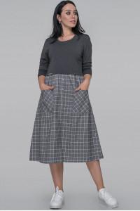 Сукня «Лавінія» сірого кольору