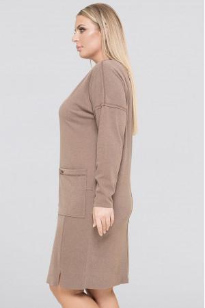 Сукня «Лавір» кольору капучино