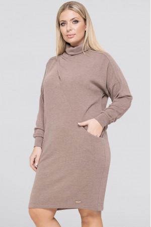 Сукня «Коннор» кольору капучино