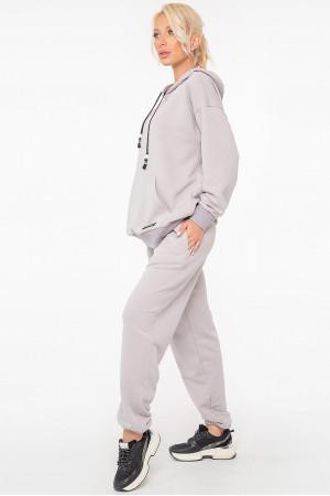 Спортивный костюм «Рэйв» серого цвета