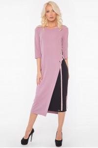 Сукня «Тріні» кольору фрезії з чорним