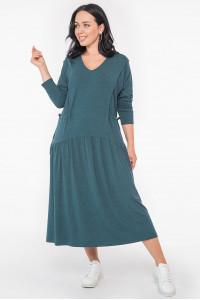 Платье «Гойя» зеленого цвета