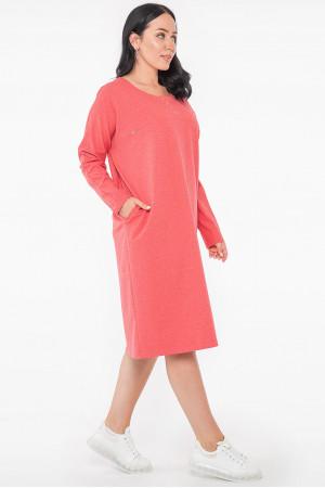 Сукня «Марісоль» коралового кольору