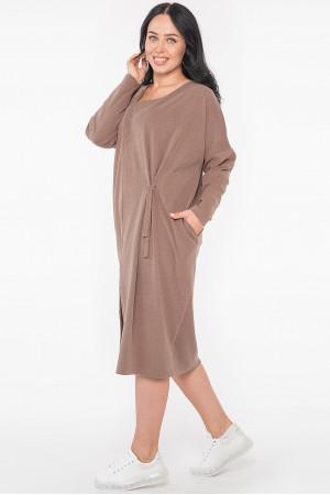 Сукня «Крессіда» кольору капучино