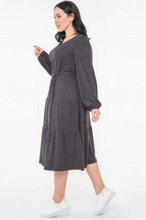 Сукня «Джемма» темно-сірого кольору