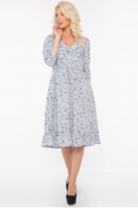 Сукня «Філіна» сіро-блакитного кольору